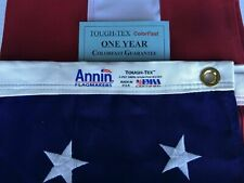 New listing 6x10 Ft Annin Us American Flag Tough Tex 2 Ply Poly Commercial Embroidered Stars