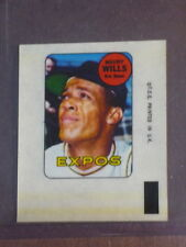 1969 Topps Decals Maury Wills - Expos NM 002