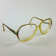 Vintage Joan Collins J254 APPLAUSE Signature Eyeglass Frames Tech Marine