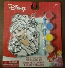 DISNEY Princess Cinderella PAINT YOUR OWN SUN CATCHER New 2017