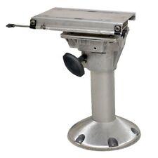 Springfield Boat Seat Pedestal w/ Slide and Swivel | Aluminum 14 5/8 Inch