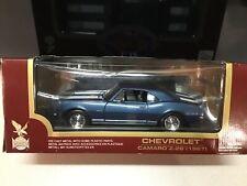 Road legends Chevy Camaro z-28 1967 blue 1/18 Diecast