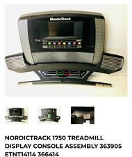 Nordictrack commercial 1750 treadmill console 363905