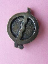 rare pin's tintin n°12 - piéce d'essai réalisé par coinderoux vers 1980 ,hergé