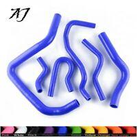 Silicone Radiator Hose Kit For HONDA CIVIC TypeR EK EG B16A B18C B20B 92-00 Blue
