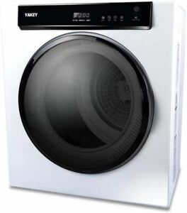 1400W Electric Portable Clothes Dryer, 9 lbs Capacity Front Load Compact Tumble