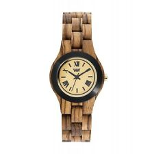Orologio In Legno Donna Wewood Criss Mb Zebrano