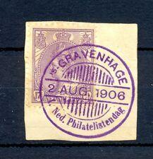 NEDERLAND 1906  SPEC PM OP 17½ CT  F/ VF