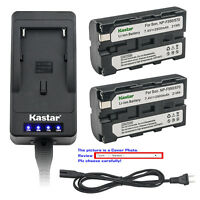 Kastar Battery Super Fast Charger for Sony NP-F550 & CCD-SC55 CCD-TR12 CCD-TR3