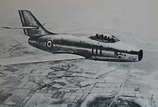 information aéronautique Dassault MD-452 Mystere IV French Air Force Postcard