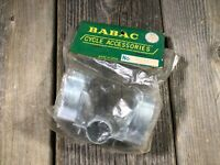 VINTAGE ANTIQUE BIKE BICYCLE FLASHLIGHT HOLDER BABAC LIGHT BRACKET NOS NIB