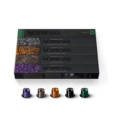 Nespresso Capsules OriginalLine,Ispirazione Best Seller Variety Pack,50 Count