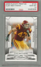 2009 Playoff Prestige Clay Mathews RC PSA 10