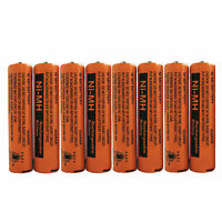 2~8 Pcs 700mAh Panasonic NiMH AAA Rechargeable Battery For Cordless Phones New