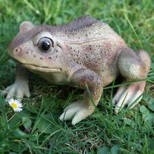 Dekofigur Frosch Kröte Unke Lurch Laubfrosch Teich Tier Figur Skulptur