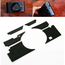 Camera Black Leather Case Sticker Skin Decal Cover for Sony DSC-RX100III RX100M3