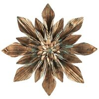 Rustic Copper Flower Metal Wall Decor Rustic Home Decor Shabby Chic