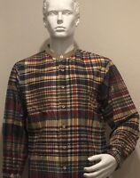 Arthur Richards Shirt Banded Collar Men's Size Large