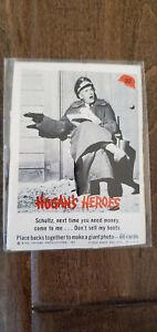 1965 FLEER HOGANS HOGAN'S HEROES CARD SCHULTZ NEXT TIME NEED MONEY SELL BOOTS 22