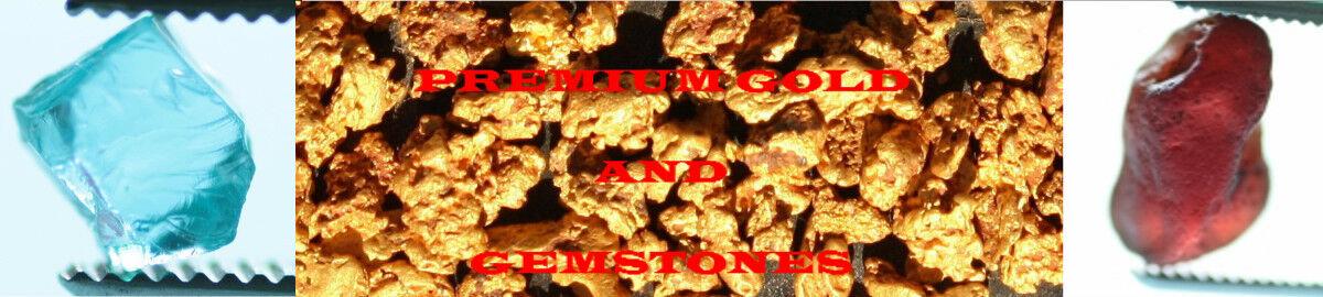 Premium Gold and Gemstones