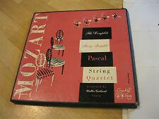 4 LP Box Mozart Streichquintette Jubiläumsausgabe 1956 Pascal String Vinyl