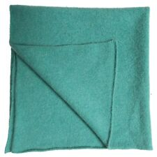 BNWOT£145 Caramel Baby And Child Turquoise Angora Wool Nursery Blanket