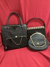 New listing Lot of 4 Great Vintage Handbags Purses -After Five, Andrew Geller, Sunset Rex