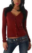 Hüftlange Damen-Pullover & -Strickware mit Knöpfen und 32 Größe