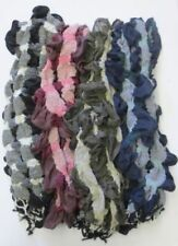Tassels Polyester Scarves & Wraps for Women