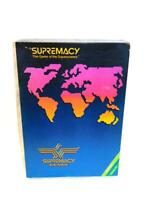 Vintage 1986 Supremacy Game of the Superpowers Strategy Global Domination Canada