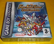 SUPER ROBOT TAISEN ORIGINAL GENERATION Game Boy Advance  ○○○○○ NUOVO SIGILLATO