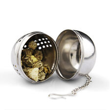 Stainless Steel Tea Strainer Infuser Locking Ball Spice Herbal Ball Cooking Tool