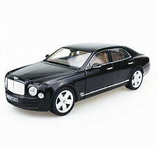 Rastar 1:18 Bentley mulsanne Diecast Model Vehicle Car Black New in Box