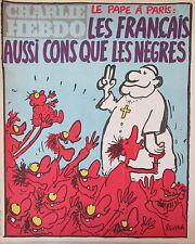 CHARLIE HEBDO No 498 MAI 1980 REISER LE PAPE A PARIS LES FRANCAIS AUSSI CONS ...