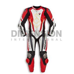 New Motorcycle/ Motorcycle Ducati Corse K1 Cowhide leather Racing  suit