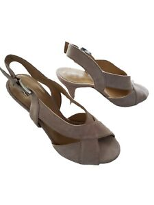 Michael Michael Kors Womens Becky Dress Sandals Suede Size 6 New Nude