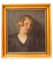Schönes Damen Porträt; Erwin Henning, 1925