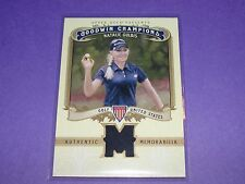 2012 Goodwin Champions NATALIE GULBIS #M-NG Tournament Used Relic LPGA Golf SP