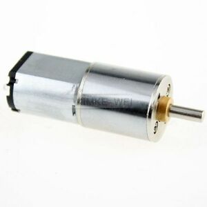 6V 500RPM Torque Gear Box Motor New