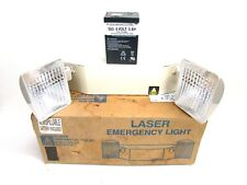 Nos! Big Beam Systems Laser Emergency Light, Rechargeable 6V Battery #499-6001
