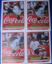 Panini FIFA WM World Cup 2010 Coca Cola 4 Sondersticker KLOSE-Salto rar