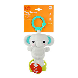 Bright Starts Tug Tunes Elephant Suitable From Birth BPA FREE