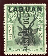 Labuan 1901 KEVII Postage Due 2c black & green (p13½-14) VFU. SG D1. Sc J1.