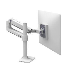 Ergotron LX Monitor Arm - Desk Mount - White  (45-537-216)