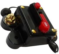 100A 12V 24V 32V 48V fusible automatique disjoncteur 78x52x37mm IP67 ampli auto