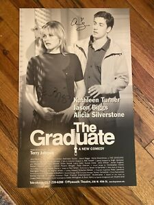 The Graduate Broadway Autograph Poster