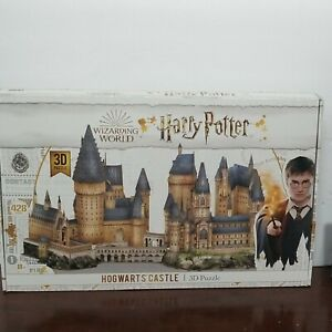 New Hogwarts Castle Wizarding World of Harry Potter 3D Puzzle 428 Pcs Great Gift