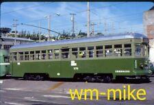 #185 - JAPAN - Osaka trolley tram 578 in 1986 ORIGINAL slide