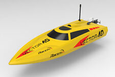 Volantex Vector 40 Electric RTR Speed Boat Yellow - Fast and Furious!