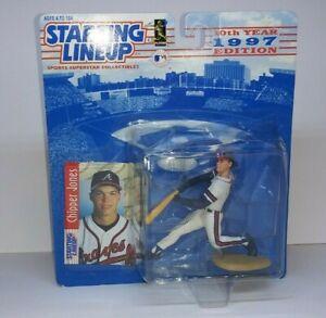 Starting Lineup Chipper Jones 1997 Baseball 10th Year Edition Atlanta Braves #10